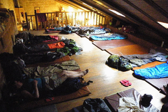 Camp out at Granon Parochial