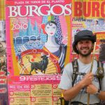 Concert posters in Main Street Burgos