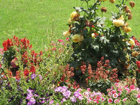 3. Striking flower arrangements