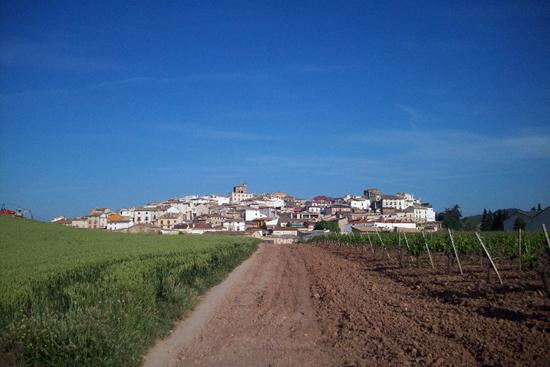 Village on the horizon