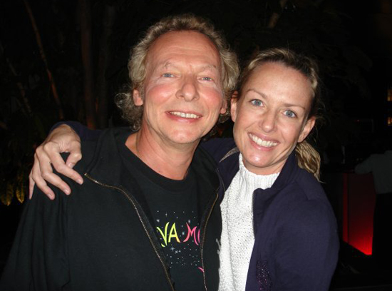 Dipamo with Krisha Kristina