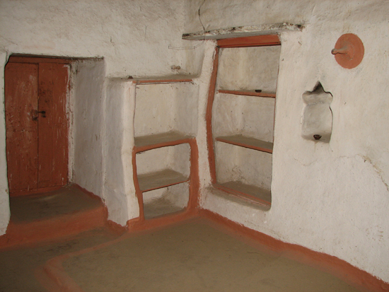 Upstairs room Osho's birth house