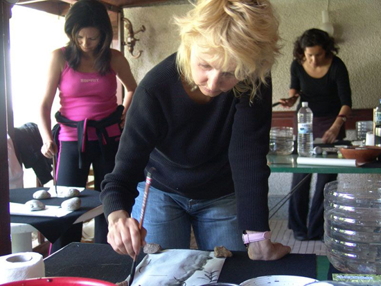 033 calligraphy workshop
