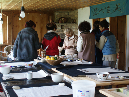 Ganga calligraphy course in Bulgaria
