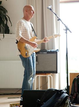 Rehearsal at Osho Risk
