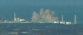 Fukushima Power Plant Explosion