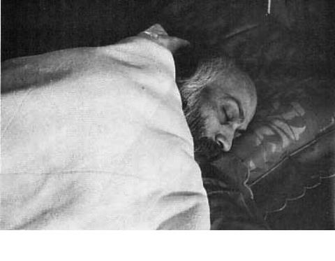 050 Osho sleeping