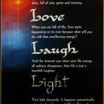 Live Love Laugh Light