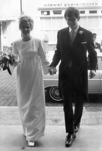 1968 Marriage with Siebe