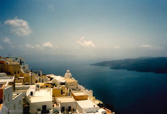 1986 Santorini island divine