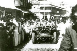 Osho drive by in India