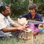 KP and Chinmaya on the tablas and sarod