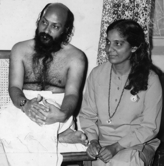 Osho with Jyoti