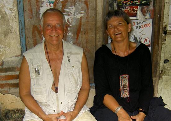 Neeten and Susen in Bali