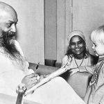 child taking sannyas