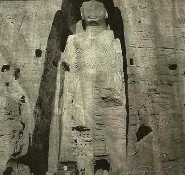 Bamiyan Buddha before it was destroyed