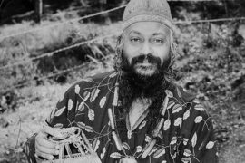 Osho in local clothing