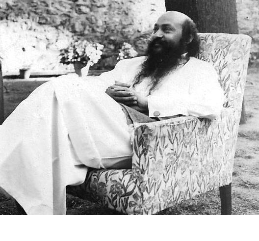 Osho in Mount Abu about 1973