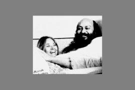 Osho and Veena - Bombay 1973