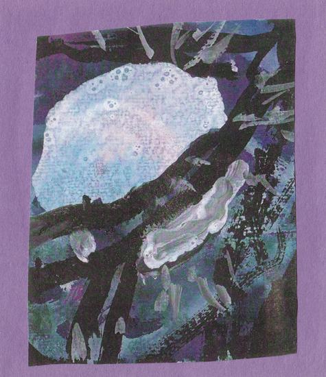 Teacher moon by Madhuri