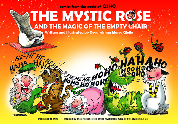 cover of The Mystic Rose and the Magic of the Empty Chair