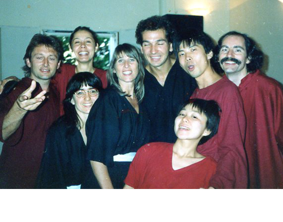 Counselor training 1990 (at far right)