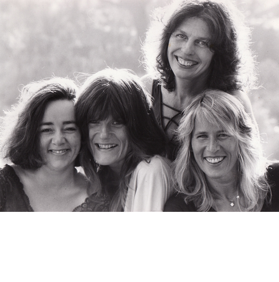 """The four singing stars of """"Women in Love"""": Neera, Satyam, Sitara, Aneesha."""