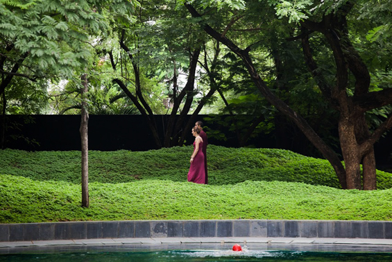 gardens at the Osho Meditation Resort in Pune
