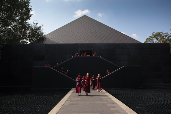 Pyramid at the Osho Meditation Resort in Pune