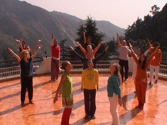 Gurdjieff Dances in Bhagsu - Dharmsala