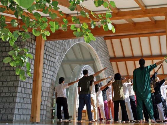 Gurdjieff Movements at Osho Nisarga - Dharmsala