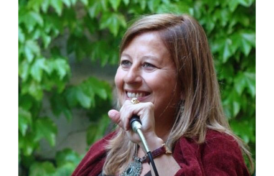 Radha on mic