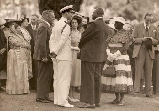 Queen Elizabeth in Kenya 1952