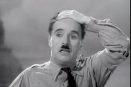 Chaplin as Hitler