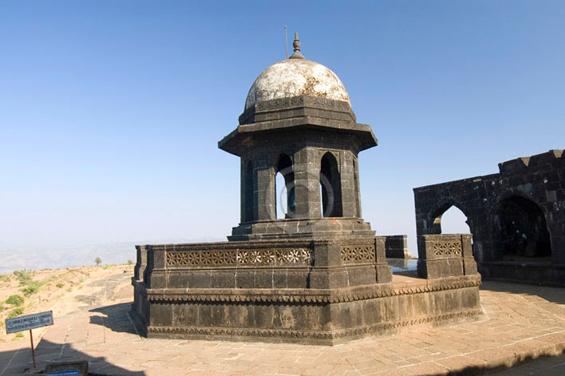Samadhi of a Shivaji Maharaj king, Fort Raigad, Maharashtra