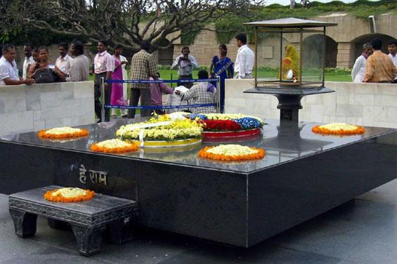 Mahatma Gandhi's samadhi, Rajghat