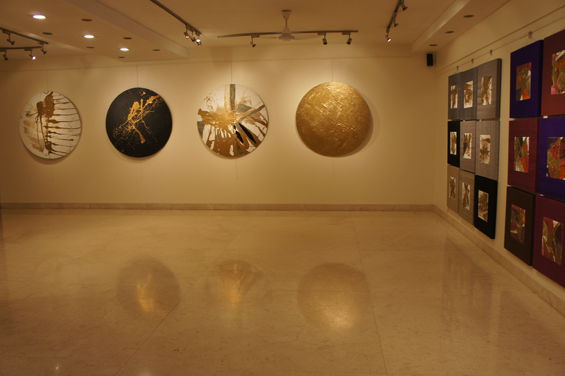 in gallery
