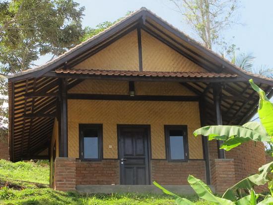 Bali-style bungalow
