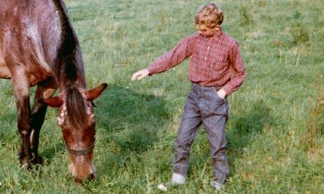 Ed Vulliamy with horse