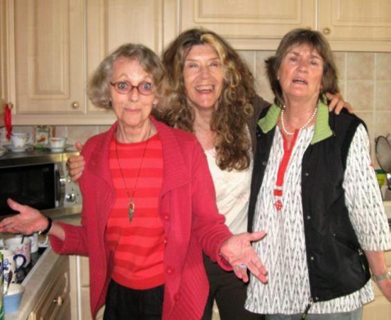 Madhura, Mangie and Panky