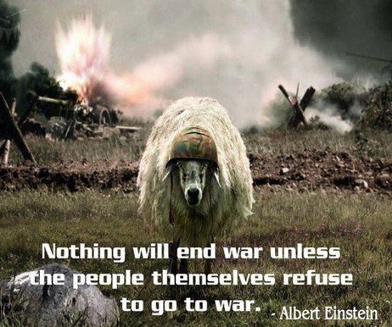 Einstein on War