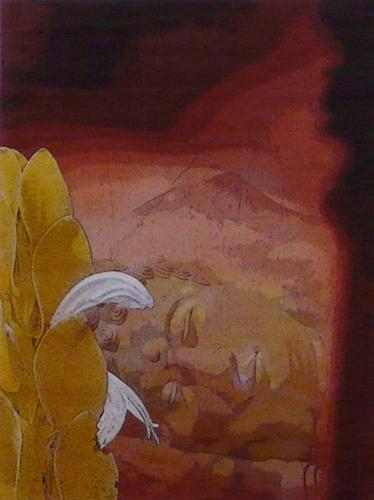 Buddha Sleeping: digital art made from photographs I have taken