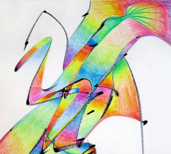 rainbow-swan