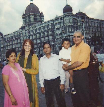 Big Prem with Indian friends