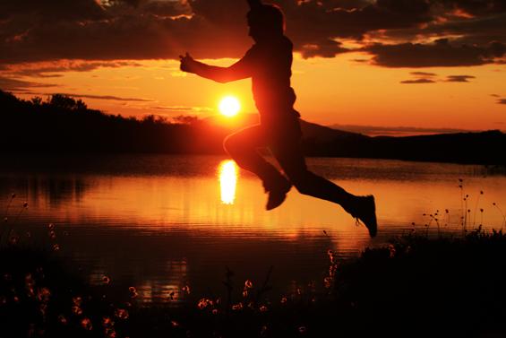 Jumping into life courtesy Flickr Leetalav