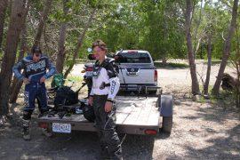 Chris with bike buddy