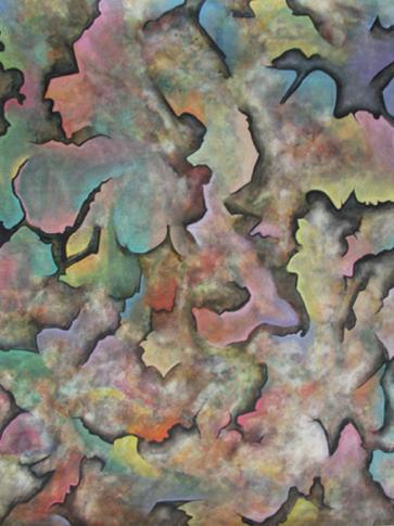 Playfulness, 1988, watercolour
