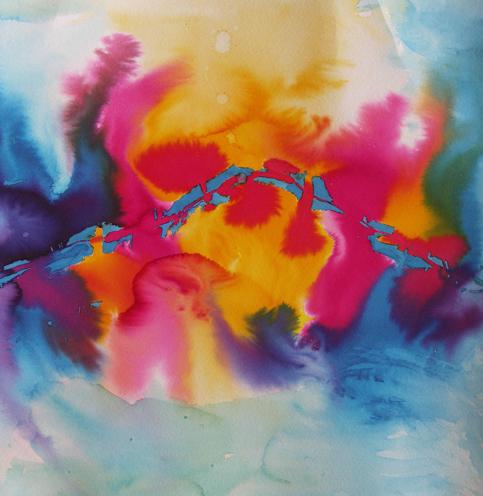 Waterdance, 2007, watercolour