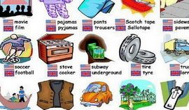 British and American English Feat.