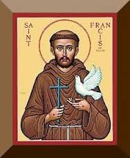 St. Francis with Bird